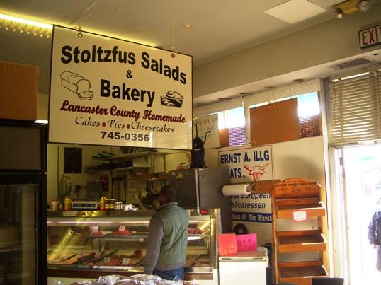stoltzfus salads bakery philadelphia market