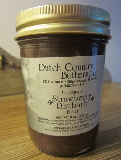 Strawberry Rhubarb Butter