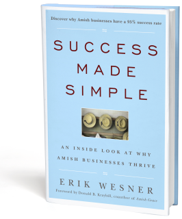 success made simple amish business book