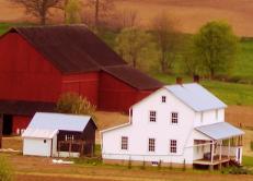 swartzentruber amish farm home