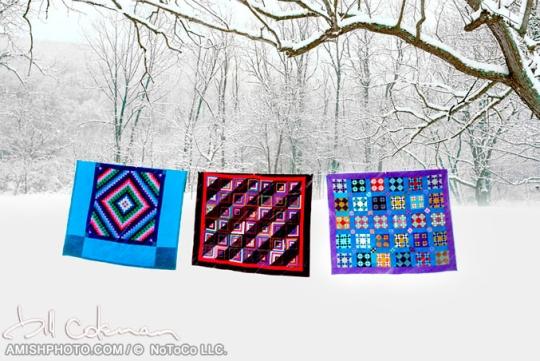 Three Amish Quilts Bill Coleman
