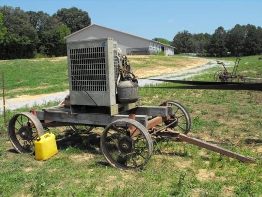Threshing Engine