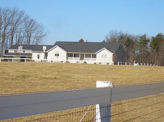 virginia amish house