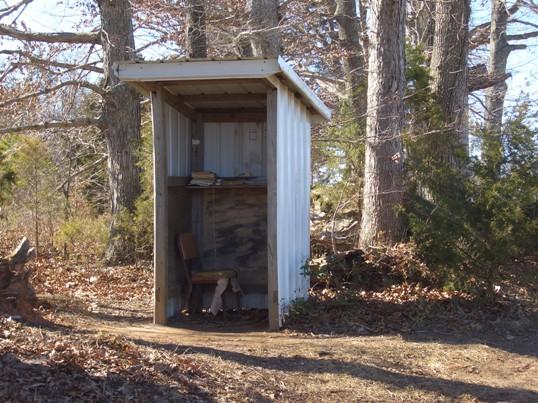 virginia amish phone shanty