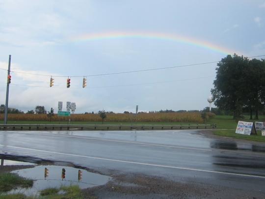 Wayne County Ohio Rainbow