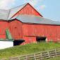 Wooden Amish Barn