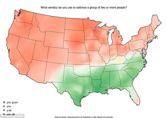 Y'all Map