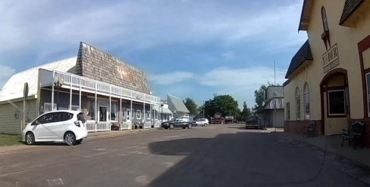 Yoder Kansas Downtown