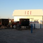 Amish Ice Kiosk
