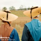 What do these Amish women have on their heads?