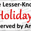 5 Lesser-Known Holidays Observed By Amish