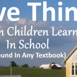 5 Things Amish Children Learn In School (Besides Book Subjects)