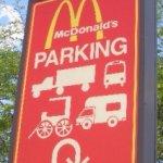 Do Amish eat at McDonald's?