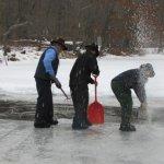 Harvesting Ice in Amish Ohio