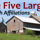 The 5 Largest Amish Affiliations