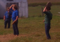 amish children photo