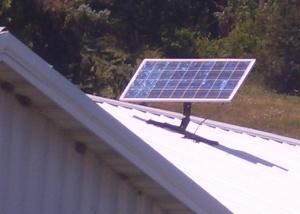 amish solar power
