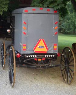 amish baptism buggy