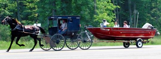 amish boat