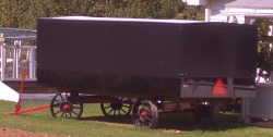 amish church wagon