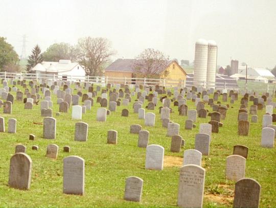 amish graves
