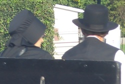 amish married couple
