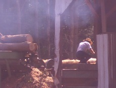 amish sawmill business