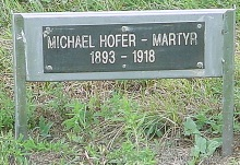 hutterite martyr hofer