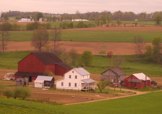 swartzentruber amish farm