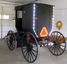new york amish clymer buggy